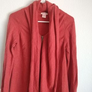 100%  Large cashmere cardigan by Pink
